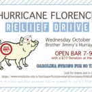 Brother Jimmy's Hosts Hurricane Florence Relief Drive Photo