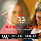 WA Concert Series To Feature Program Of Baroque And Classical Works Played On Historical Instruments