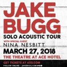 Win Tickets to See Jake Bugg with Nina Nesbitt at The Theatre at Ace Hotel in Los Angeles 3/27