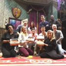 Photo Flash: THE PLAY THAT GOES WRONG Kicks Off Holiday Season with Pie From Master Baker Ellen Gray Photos