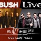 +LIVE+ and BUSH Announce Co-Headline Tour