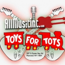 All Music Feeling the Holiday Spirit with Toys For Tots Drop-off in Plainview