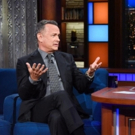 VIDEO: Tom Hanks Talks THE POST, New Book & More on LATE SHOW