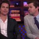 VIDEO: Matt Bomer and Andrew Rannells Talk Theatre Etiquette, Awkward Headshots, & More on WATCH WHAT HAPPENS LIVE
