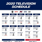 The XFL to Air on ABC, ESPN, FOX Sports and FS1