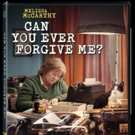 CAN YOU EVER FORGIVE ME? Starring Melissa McCarthy Arrives on Digital Feb. 5 and DVD Feb. 19
