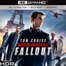 MISSION: IMPOSSIBLE- FALLOUT Releases on Digital 11/20 & on 4K Ultra HD, Blu-ray and DVD 12/4