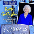 Patti Gallagher to Perform 'Memories' With Wayne Abravanel On Piano