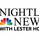 NBC NIGHTLY NEWS WITH LESTER HOLT is Number One in Key Demo for 14 Straight Weeks