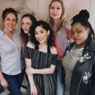 Photo Flash: Pop Singer/Songwriter Brielle Von Hugel Visits Cast of UNEXPECTED JOY