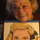 Photo Flash: Rose Marie Poses with Her New Sardi's Portrait!