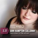 Ann Hampton Callaway to Perform at City Winery