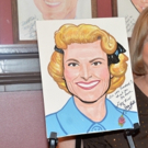 Photo Coverage: Showbiz Legend Miss Rose Marie Gets Caricature at Sardi's