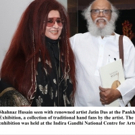 BWW Review: SHAHNAZ HUSAIN ATTENDS ARTIST Jatin Das' Pankha Exhibit