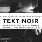 KCPublic Presents Immersive Reading of TEXT NOIR