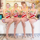 Photo Flash: The Rockettes Unveil 'Rockette Red Velvet' Cupcake at Magnolia Bakery