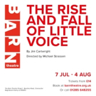 THE RISE AND FALL OF LITTLE VOICE To Open At The Barn Theatre