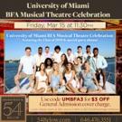 University Of Miami BFA Students Take on Feinstein's/54 Below Photo