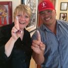 BWW TV: Carol Channing Gets a Thumbs Up! Sneak Peek of New Art Installation
