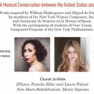 Women In Music Concert: A Musical Dialogue Between the United States and Spain at the Photo