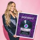 Mariah Carey Receives Pandora Billionaire Plaque
