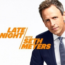 Scoop: Upcoming Guests on LATE NIGHT WITH SETH MEYERS on NBC, 1/9-1/16