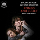 The Bolshoi Ballet Returns to U.S. Cinemas This July With First-Ever Summer Encores Series
