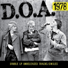 D.O.A.'s 1978  LP/CD To Be Released 5/3 Photo