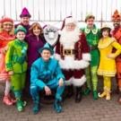 Photo Flash: Cast of ELF THE MUSICAL Visits The Empire State Building