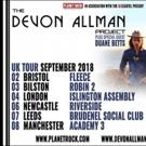 The Devon Allman Project Announces September 2018 UK Tour With Special Guest Duanne Betts
