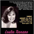 Leslie Tinnaro in LOVING LERNER - MY HEART TOOK FLIGHT Comes To Arthur Newman Theater