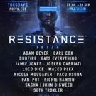 RESISTANCE Ibza Festival Announces 2018 Headliners Photo