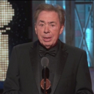 VIDEO: Andrew Lloyd Webber Talks of his Life-Long Love of the Broadway Musical when Accepting his Lifetime Achievement Tony Award