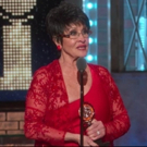 VIDEO: Chita Rivera Accepts her Lifetime Achievement Tony Award Saying 'Theatre is Life'