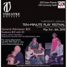Casts and Directors Announced For Theatre Odyssey's 2018 Ten-Minute Play Festival