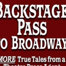 Goodreads Press Publishes Susan L. Schulman's Second Edition Of BACKSTAGE PASS TO BRO Photo
