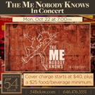 THE ME NOBODY KNOWS In Concert Comes to Feinstein's/54 Below Photo