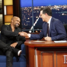 VIDEO: Shemar Moore & Stephen Compare Abs on LATE SHOW