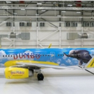 Disney Partners with Spirit Airlines for DUMBO-Inspired Plane Photo