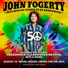 John Fogerty to Perform at Woodstock Weekend Celebration