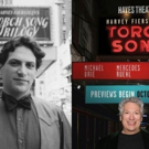 Then and Now: Harvey Fierstein Poses with the TORCH SONG Marquee at the Hayes Theater