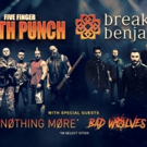 BREAKING BENJAMIN & FIVE FINGER DEATH PUNCH Tour Tickets On Sale Friday 3/16 Photo