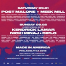 MADE IN AMERICA Festival Releases 2018 Schedule