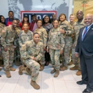 Stars of OWN's GREENLEAF Visit the Hartsfield-Jackson Atlanta International Airport USO Facility
