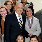 Photo Flash: ANNIE Composers Charles Strouse and Michael Charnin Pay A Visit Backstag Photo