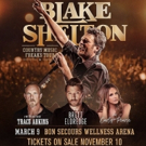 Blake Shelton Announces Greenville Tour Date