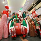Panto Cast Help Make Christmas A Cracker At Shopping Centre Photo