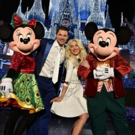 Julianne Hough & Nick Lachey Kick Off ABC's Holiday Celebrations, 11/30