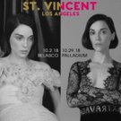 St. Vincent to Hold An Intimate Performance at the Belasco Theater