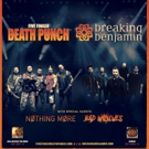 Five Finger Death Punch and Breaking Benjamin-Announce Massive Summer Amphitheater Tour